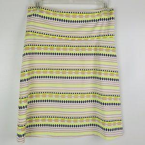 Ellie Kai Stretchy size 2 multicolor skirt